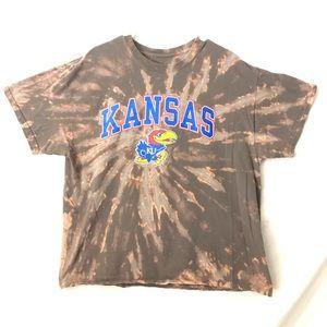 Kanas University Tiedye T-shirt